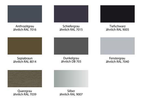 Kunststofffenster ral farben  Farbe und Oberfläche | Carls-Aue